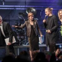 VIDEO: Ceny Žebřík v Plzni převzali Tomáš Klus, Michal Hrůza, Mydy Rabycad a další. Podívejte se na to