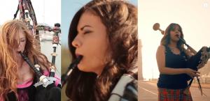Bizár týdne: Tři hudebnice hrají metal a punk na dudy