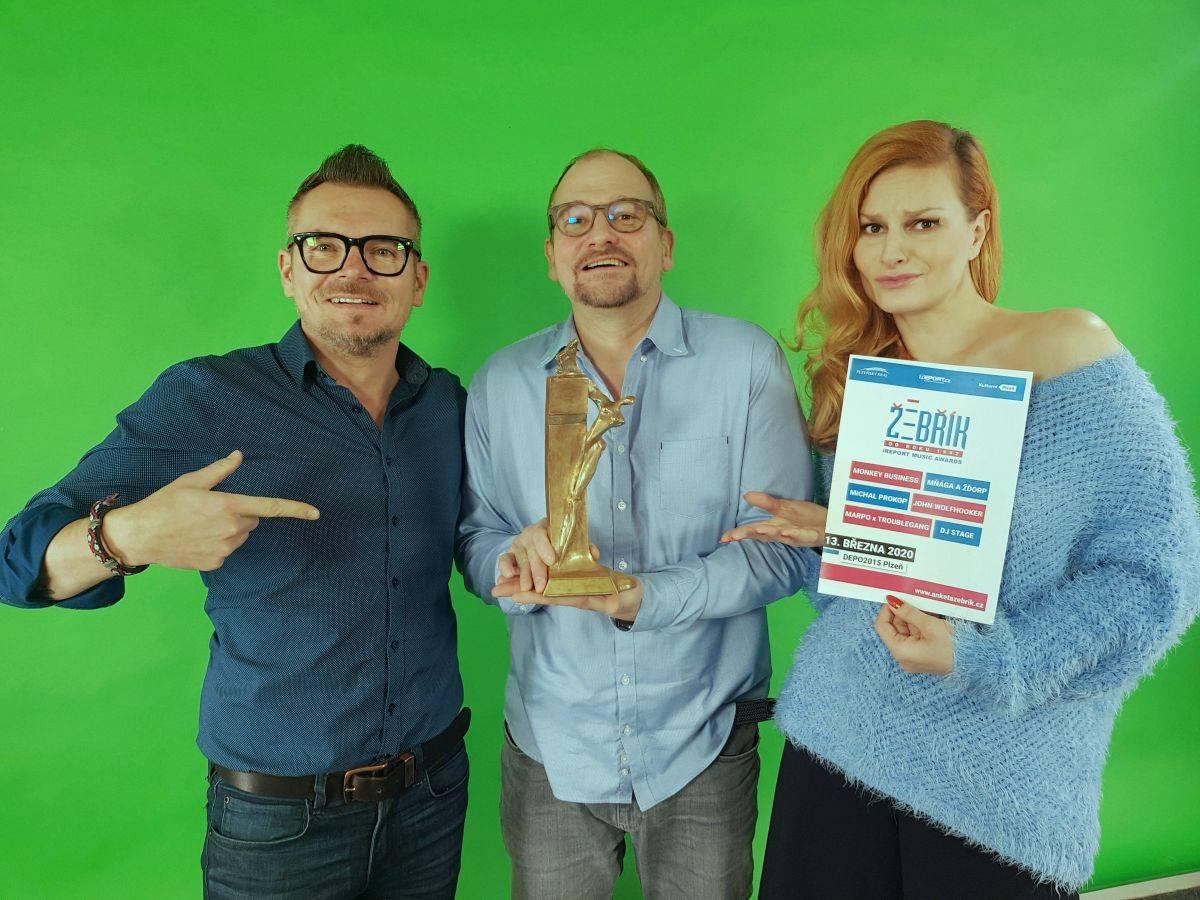 VIDEO: Marek Taclík, Iva Pazderková, Monkey Business, Mňága a Žďorp, Michal Prokop a Marpo natáčeli spot Žebříku