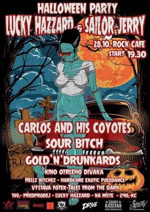 SOUTĚŽ: Halloween party v Rock Café