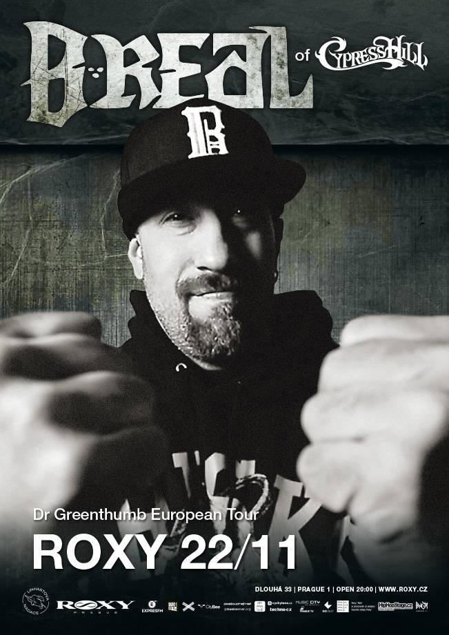 SOUTĚŽ: B-Real of Cypress Hill