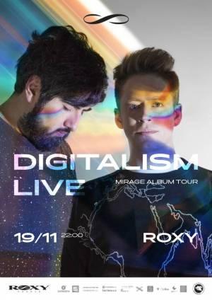 SOUTĚŽ: Digitalism v Roxy