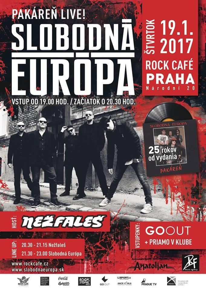 SOUTĚŽ: Slobodná Európa v Praze