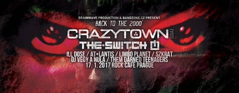 SOUTĚŽ: Nu-metalová noc s Crazy Town