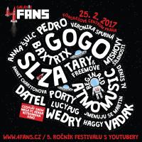 SOUTĚŽ: 4FANS – festival pro youtubery