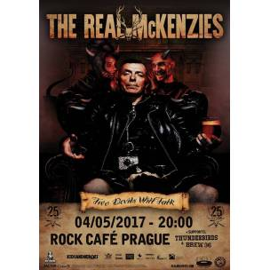 SOUTĚŽ: The Real McKenzies v Rock Café