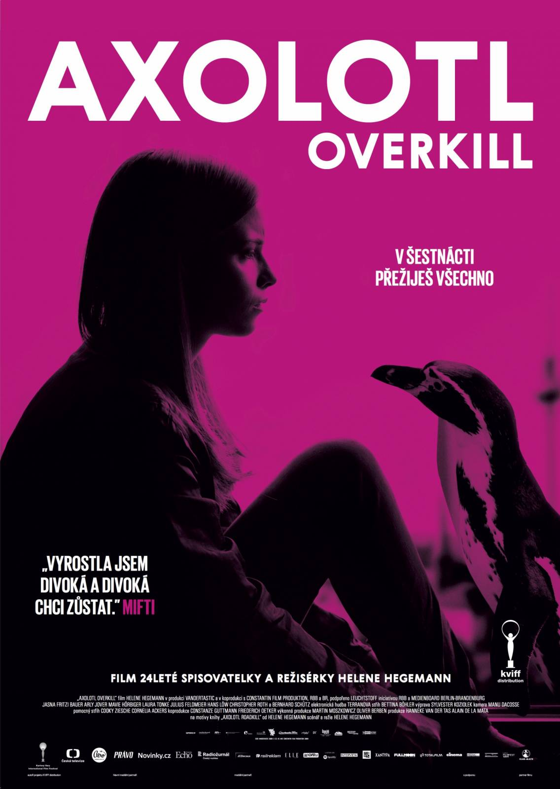 SOUTĚŽ: Premiéra filmu Axolotl Overkill