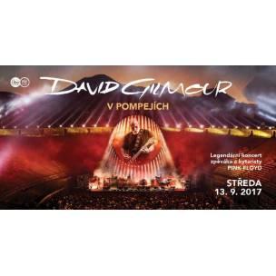 SOUTĚŽ: David Gilmour v Pompejích