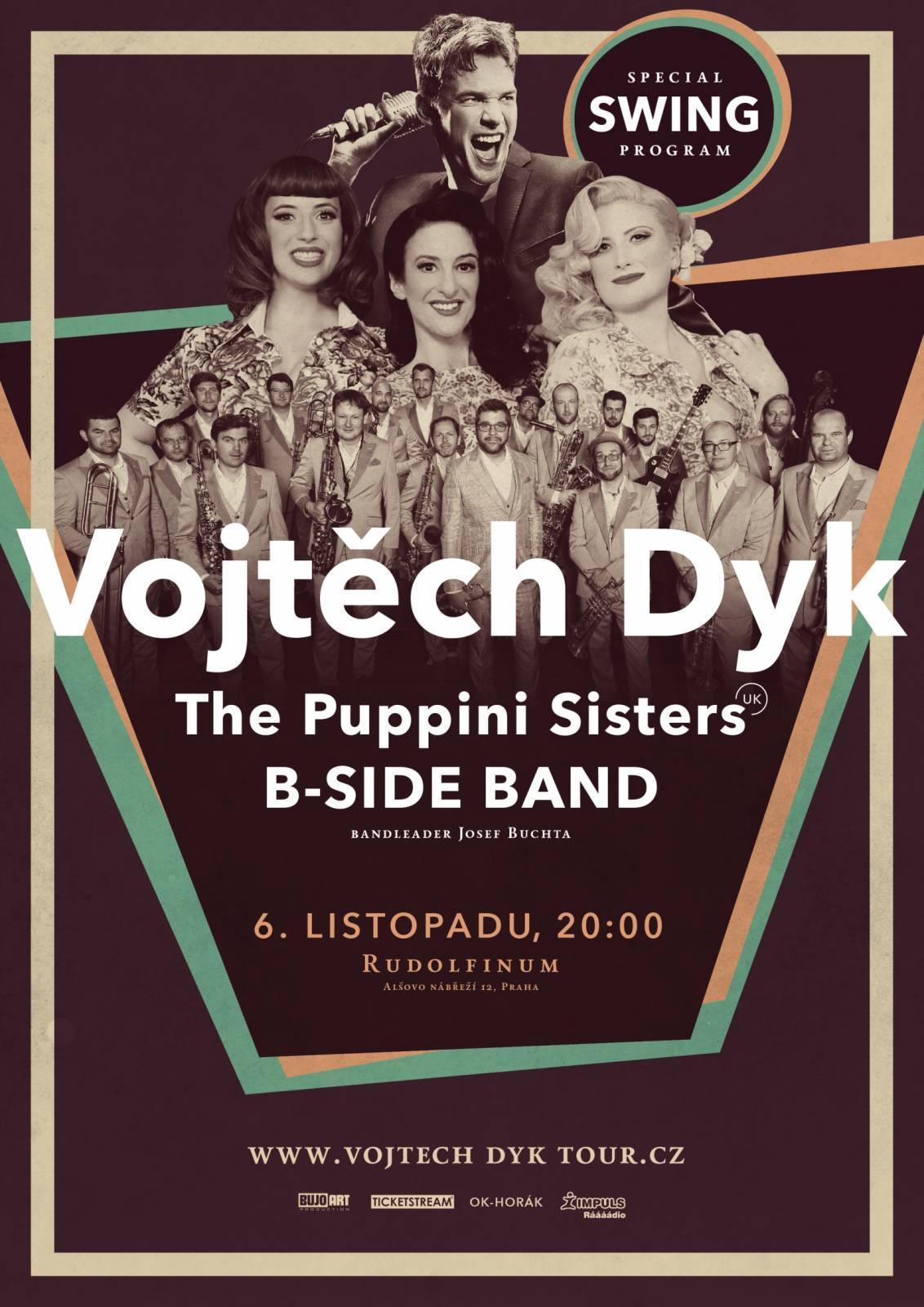 SOUTĚŽ: Vojtěch Dyk & B Side Band v Rudolfinu