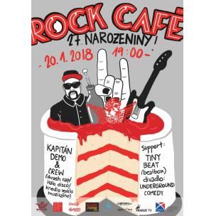 SOUTĚŽ: Narozeniny Rock Café
