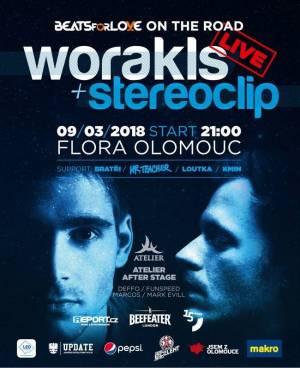 SOUTĚŽ: Worakls + Stereoclip v Olomouci