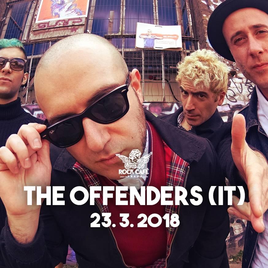 SOUTĚŽ: The Offenders v Rock Café