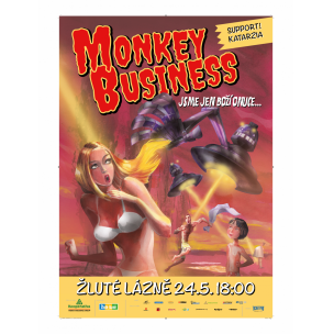 SOUTĚŽ: Monkey Business ve Žlutých lázních