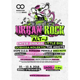 SOUTĚŽ: Urban Rock