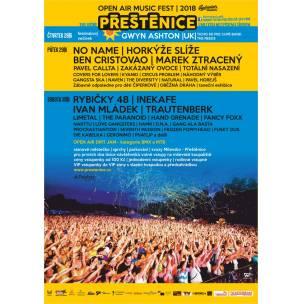 SOUTĚŽ: Open Air Musicfest Přeštěnice