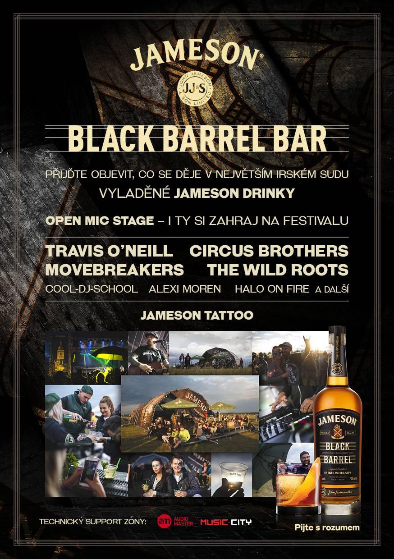 SOUTĚŽ: Jameson Black Barrel @ Mighty Sounds