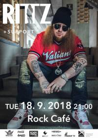 SOUTĚŽ: Rittz v Rock Café