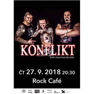 SOUTĚŽ: Konflikt v Rock Café