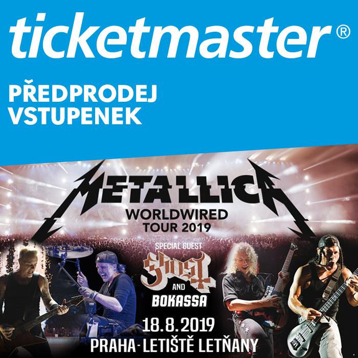 SOUTĚŽ: Metallica v Praze