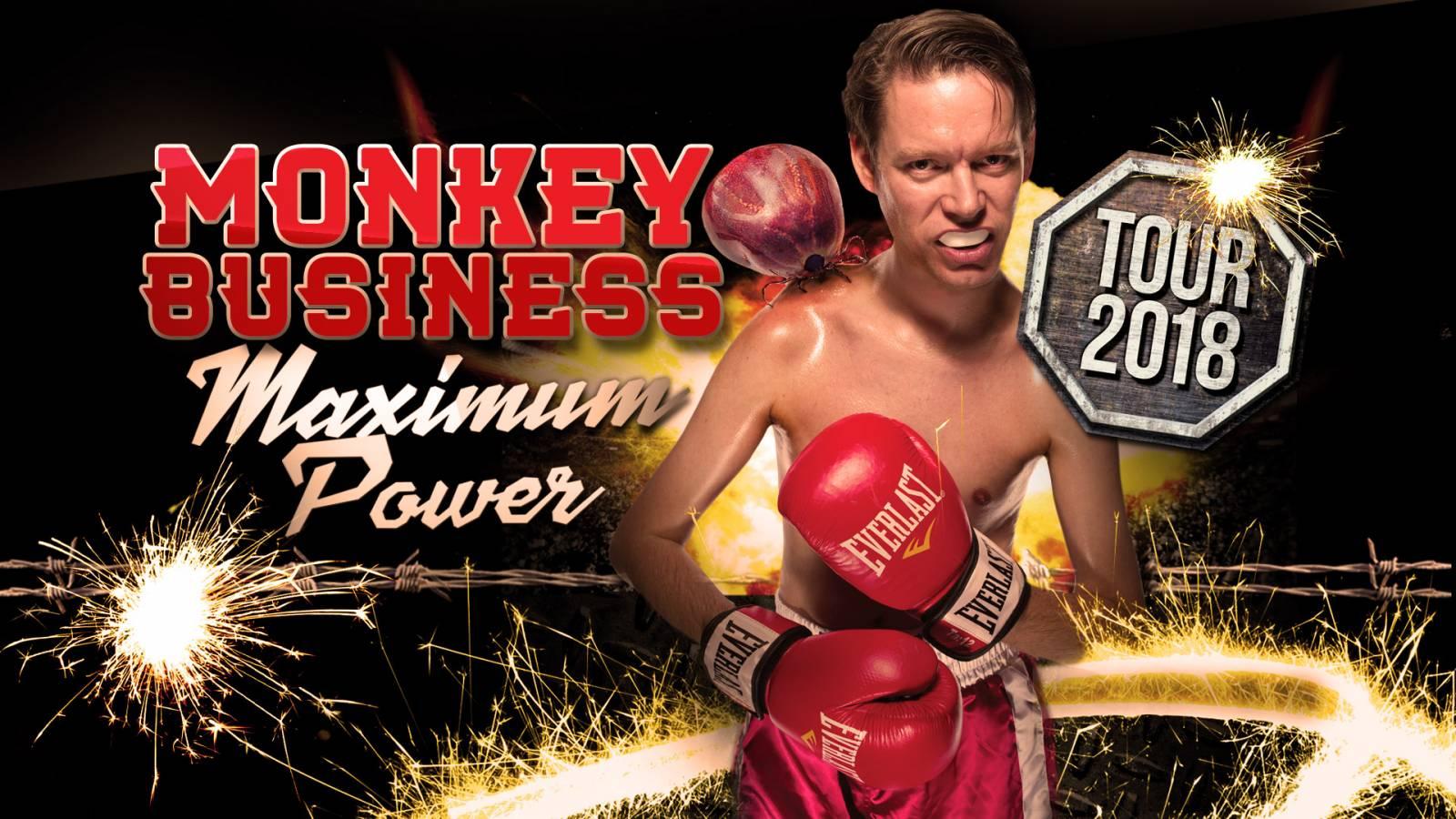 SOUTĚŽ: Monkey Business – Maximum Power Tour