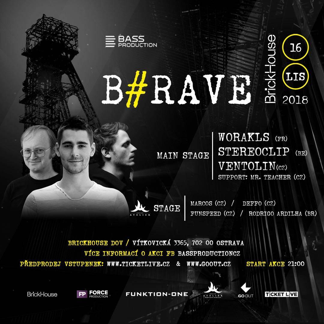 SOUTĚŽ: B#Rave v Ostravě