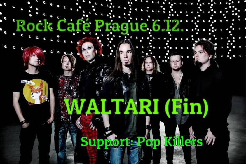 SOUTĚŽ: Waltari v Rock Café