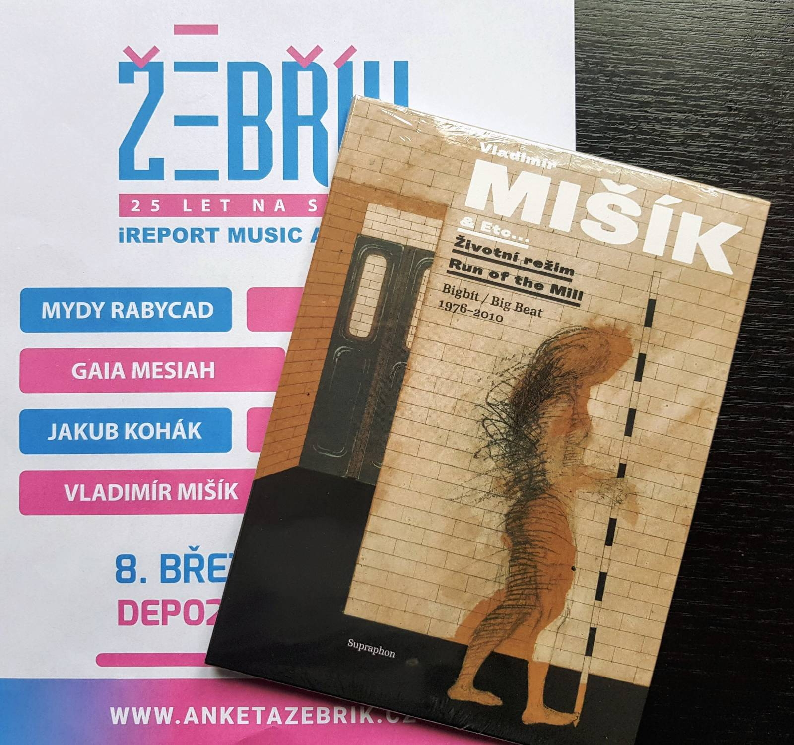 SOUTĚŽ: Vladimír Mišík na Žebříku