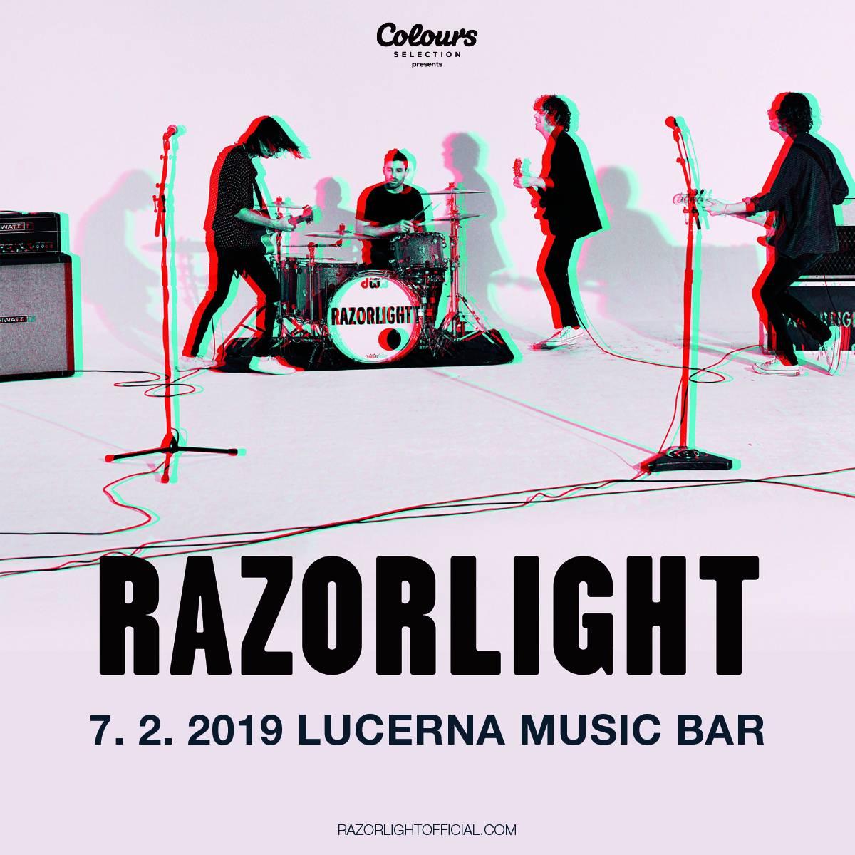 SOUTĚŽ: Razorlight v Praze