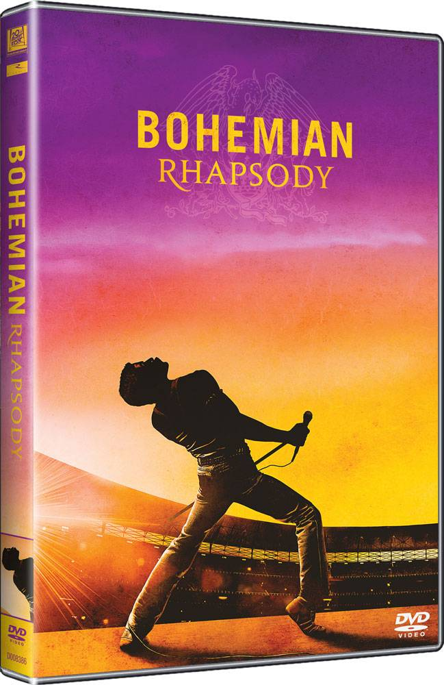 SOUTĚŽ: DVD Bohemian Rhapsody