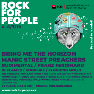 SOUTĚŽ: Rock for People 2019