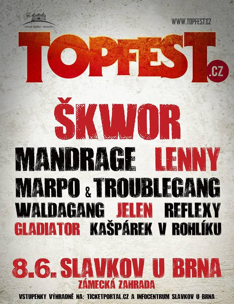 SOUTĚŽ: Topfest.cz ve Slavkově