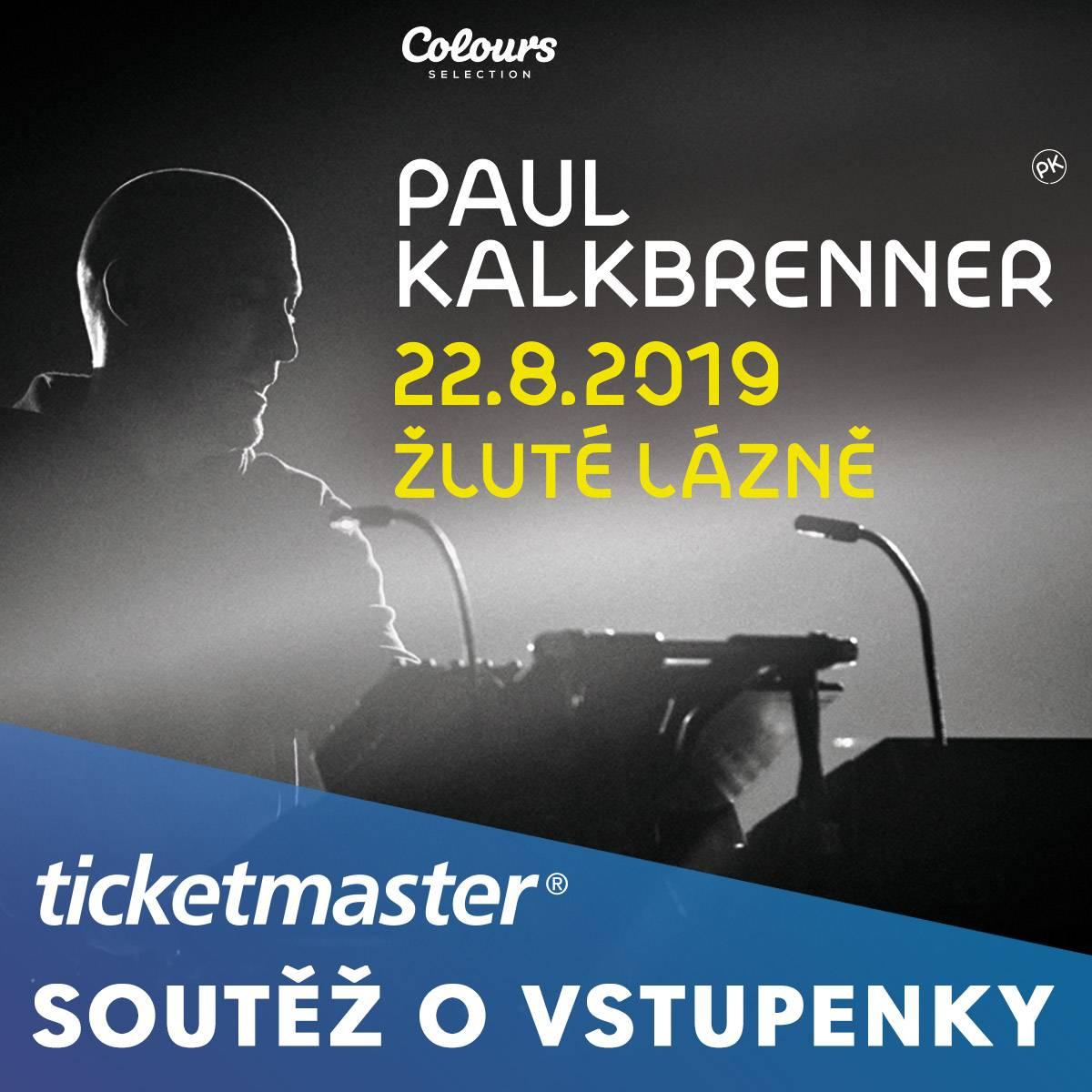 SOUTĚŽ: Paul Kalkbrenner ve Žlutých lázních