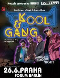 SOUTĚŽ: Kool And The Gang ve Fóru Karlín