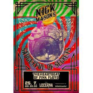 SOUTĚŽ: Nick Mason's Saucerful of Secrets v Lucerně