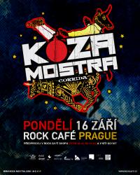 SOUTĚŽ: Koza Mostra v Rock Café