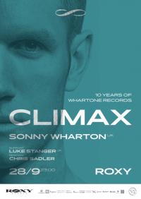 Sonny Wharton @ Climax v Roxy