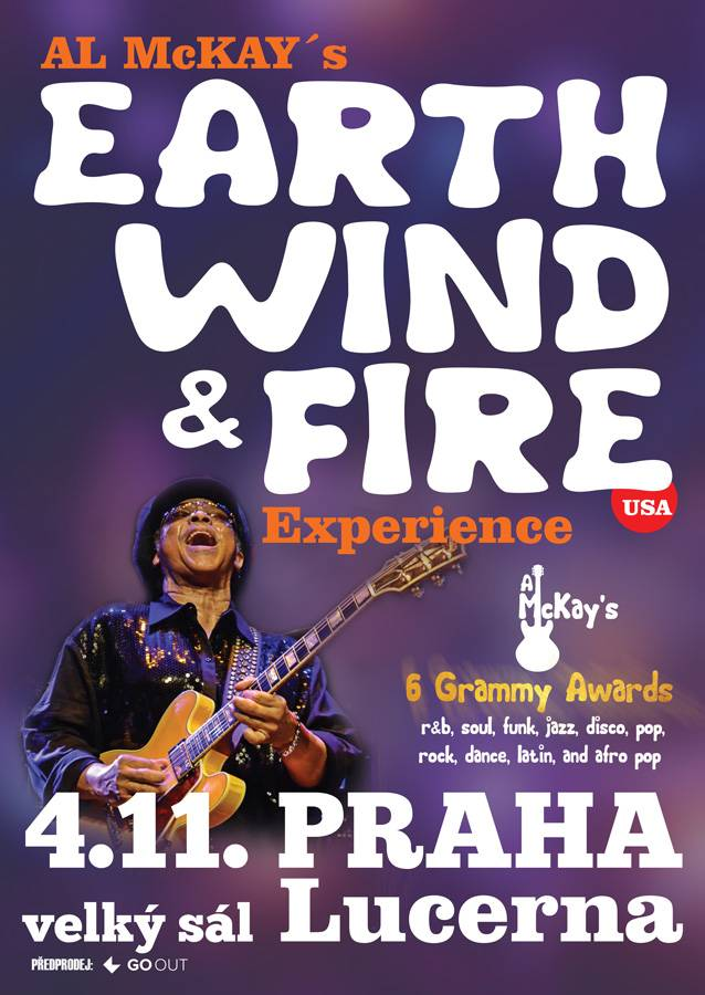 SOUTĚŽ: Earth, Wind & Fire v Lucerně