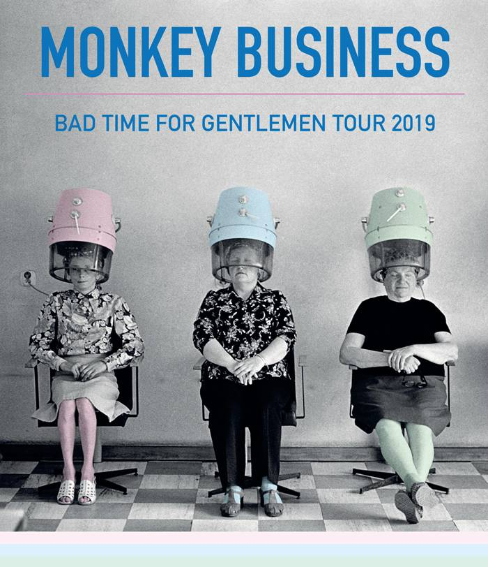 SOUTĚŽ: Monkey Business tour