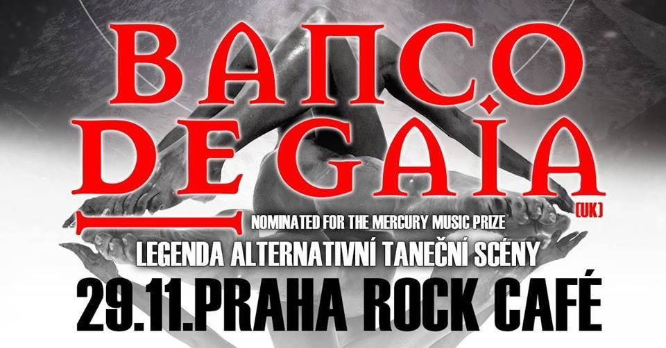 SOUTĚŽ: Banco de Gaia v Rock Café