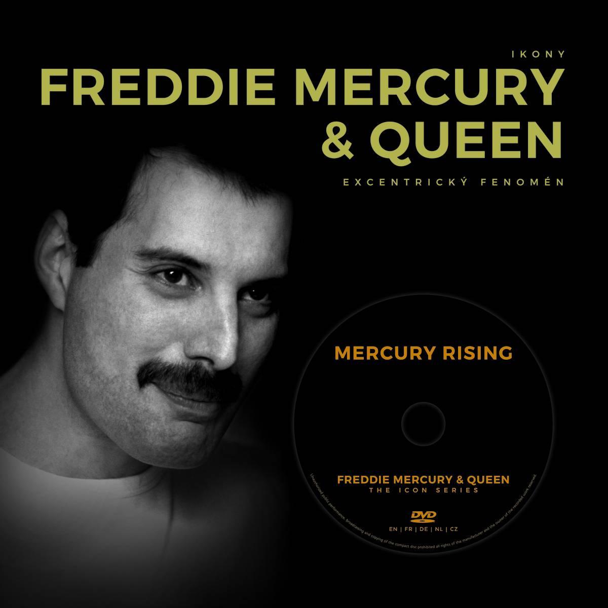 SOUTĚŽ: Kniha Freddie Mercury & Queen - Excentrický fenomén