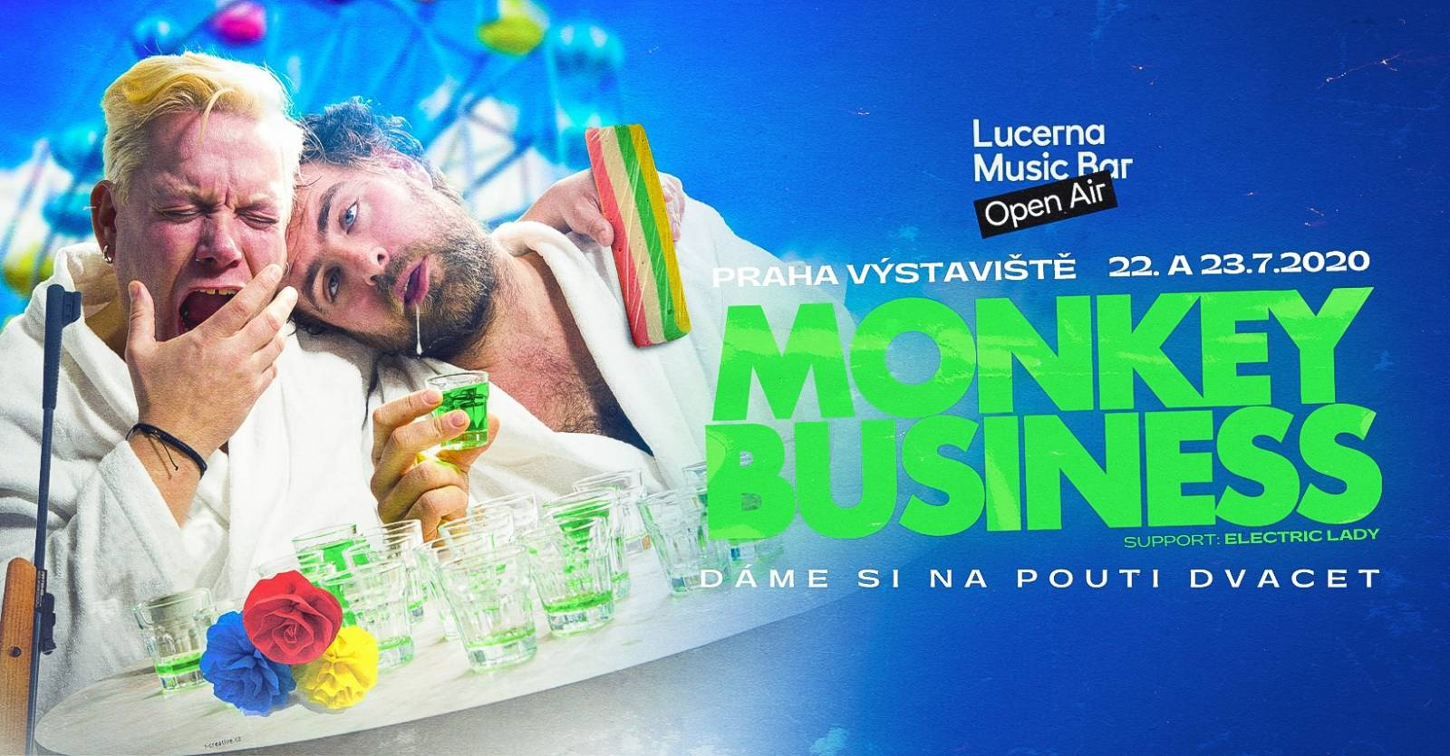 SOUTĚŽ: Narozeniny Monkey Business