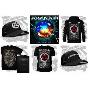 SOUTĚŽ: Merch a CD Arakain