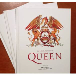 SOUTĚŽ: Kniha Tajemství skupiny Queen