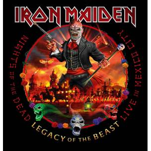 SOUTĚŽ: Iron Maiden - Live In Mexico City