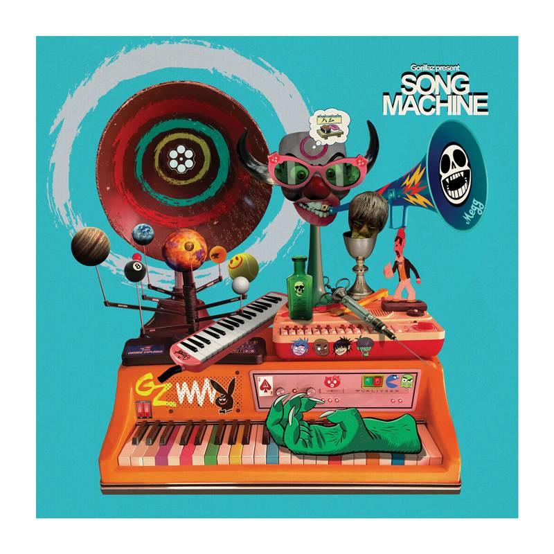 SOUTĚŽ: CD Gorillaz  - Song Machine...