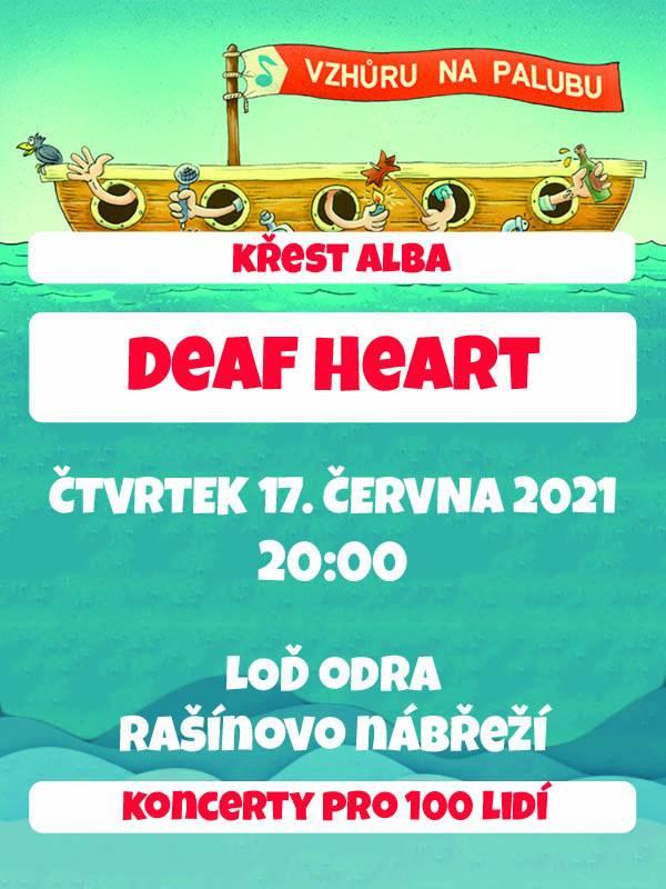 SOUTĚŽ: Na parníku s Deaf Heart