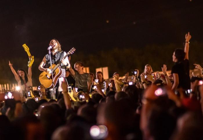 LIVE: Třicetisekundové vyvrcholení na Rock for People