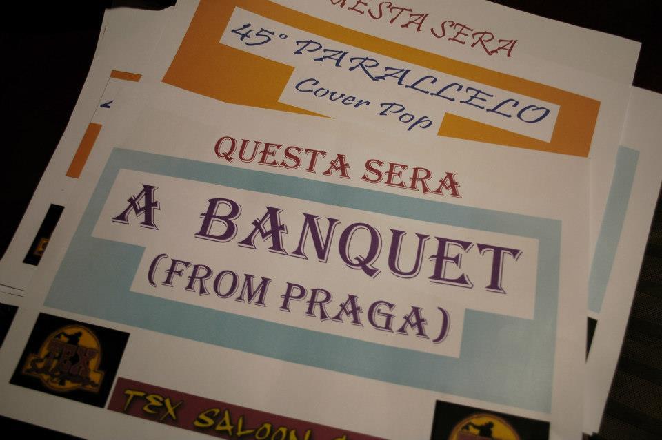 ROCKBLOG: Po Evropě s A Banquet