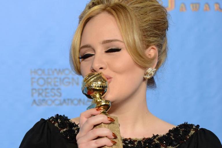 Další ocenění pro Adele: vyhrála Zlatý globus za Skyfall