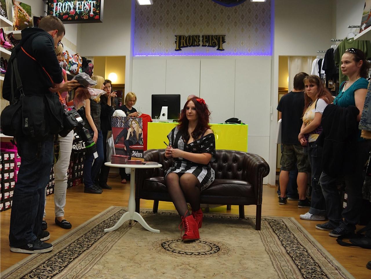 Bára Zemanová podpořila Avril Lavigne, stala se tváří její značky